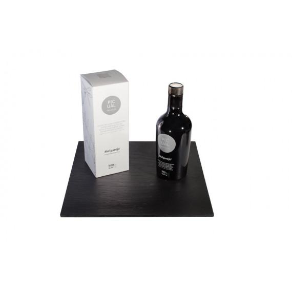 Botella de diseño de aceite de oliva virgen extra PICUAL PREMIUM