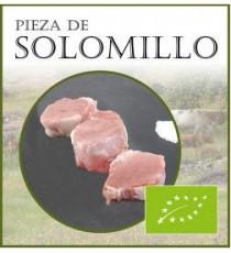 Pieza de solomillo de ternera lechal o blanca ecológica